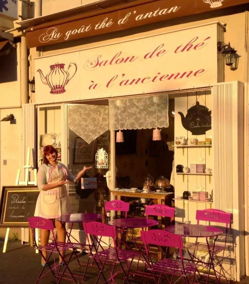 Au gout the dantan boutique salon de th nice avenue for Salon de the nice